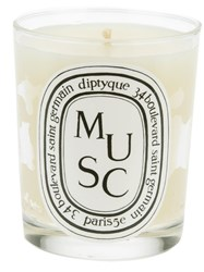 Diptyque 'Musc' Candle White