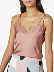 Ted Baker Zaudde Skinny Strap Cami Top Mid Pink