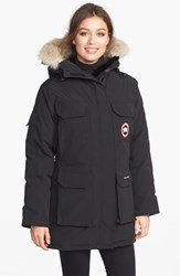 Women's Canada Goose 'Expedition' Relaxed Fit Down Parka With Genuine Coyote Fur Black