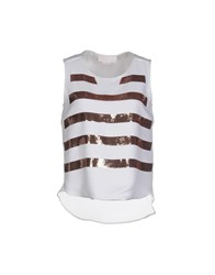 Genny Topwear Tops Women White