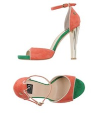 Islo Isabella Lorusso Sandals Coral