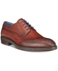 Kenneth Cole New York Men's Catch Phrase Wingtip Oxfords Men's Shoes Brown