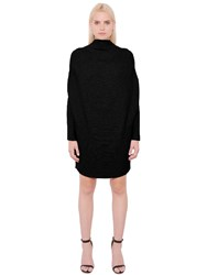 Designers Remix Draped Cotton Rib Knit Sweater Dress