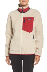 Patagonia Women's Classic Retro X Fleece Jacket Natural