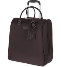Lipault Lady Plume Rolling Tote Chocolate