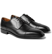 Hugo Boss Richmont Cap Toe Leather Derby Shoes Black