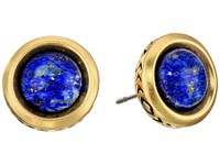 House Of Harlow The Titaness Stud Earrings Lapis Earring Navy