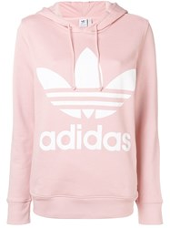 Adidas Originals Big Trefoil Sweatshirt Pink And Purple