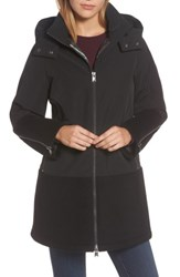 Pendleton Women's Bellevue Down And Feather Fill Parka Black