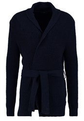 Minimum Moe Cardigan Dark Navy Dark Blue