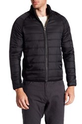 Howe Outsider Fleece Quilted Jacket Black