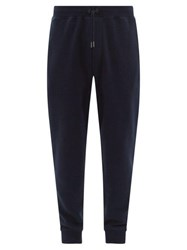 Ralph Lauren Purple Label Madison Cotton Jersey Track Pants Navy