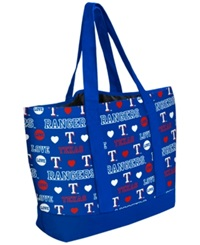 Forever Collectibles Texas Rangers Tote Bag Blue