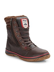 Pajar Canada Tour Waterproof Leather Boots Brown