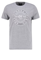 Abercrombie And Fitch Sitebuster Print Tshirt Grey Mottled Grey