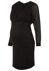 Bellybutton Martje Cocktail Dress Party Dress Stretch Limo Black