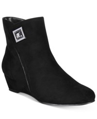 Impo Giovanna Wedge Booties Women's Shoes Black