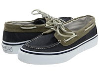 Sperry Bahama Lace Navy Khaki Men's Lace Up Casual Shoes Blue