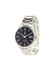 Tag Heuer 'Carrera Calibre 7 Twin Time' Analog Watch Stainless Steel
