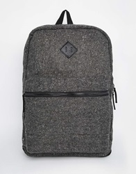 New Look Neppy Fabric Backpack Grey