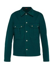 Barena Venezia Trato Cotton Jacket Green