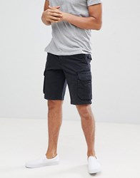 Pier One Cargo Shorts In Black