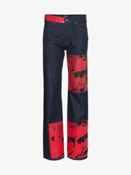 Calvin Klein 205W39nyc X Andy Warhol Foundation Dennis Hopper Jeans Blue