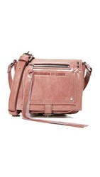 Mcq By Alexander Mcqueen Biker Cross Body Bag Dirty Pink