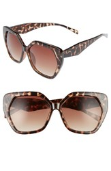 Women's Bp. 60Mm Hexagon Sunglasses