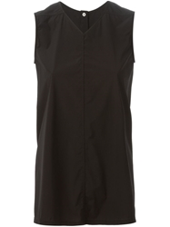 Rick Owens V Neck Tank Top