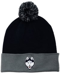 Top Of The World Connecticut Huskies 2 Tone Pom Knit Hat