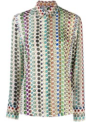 Paul Smith Ps Printed Shirt White