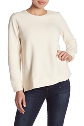 Eileen Fisher Long Sleeve Solid Sweater Petite Unnat