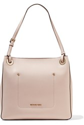 Michael Michael Kors Walsh Textured Leather Tote Pastel Pink