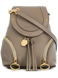 See By Chloe Olga Backpack Nude And Neutrals