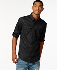 Sean John Flight Poplin Shirt Pm Black