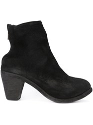 Guidi Classic Ankle Boots Black