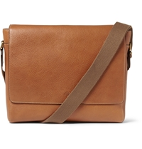 Mulberry Maxwell Leather Messenger Bag Brown
