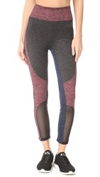 Free People Movement Colorblock Dylan Leggings Orange Combo
