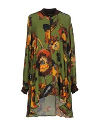 I'm Isola Marras Short Dresses Green