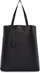 Saint Laurent Black Shopping Tote Bag