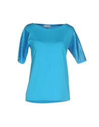 Who S Who Topwear T Shirts Women Azure