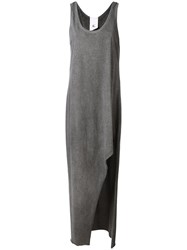 Lost And Found Rooms Long Tank Dress Grey