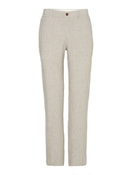 Linea Rover Linen Trousers Grey