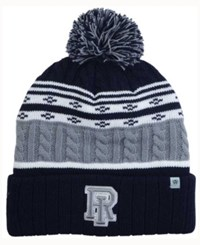 Top Of The World Rhode Island Rams Altitude Knit Hat Gray