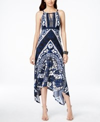 Inc International Concepts Handkerchief Hem Maxi Dress Only At Macy's