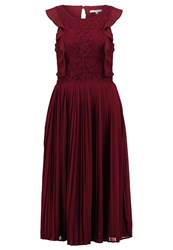 Mintandberry Summer Dress Winsdor Wine Dark Red