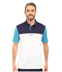 Oakley Alignment Polo White Men's Short Sleeve Pullover