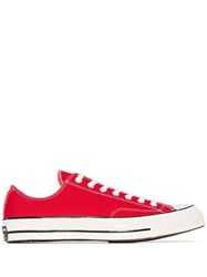 Converse Chuck 70 Low Top Sneakers Red