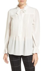 Tahari Women's Elie 'Everette' Silk Blouse